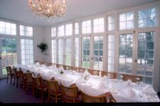 glass porch - venue for your wedding dinner