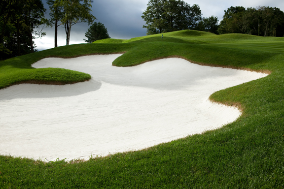 Golf In Vermont - Sand trap at Mount Anthony Country Club