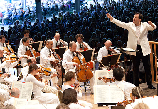 Andris Nelsons at Tanglewood