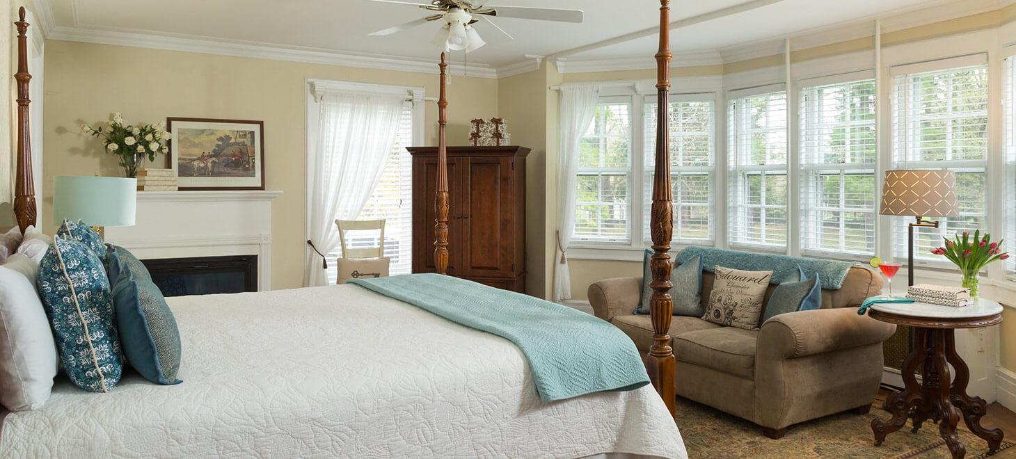 Vermont retreat centers luxury rooms