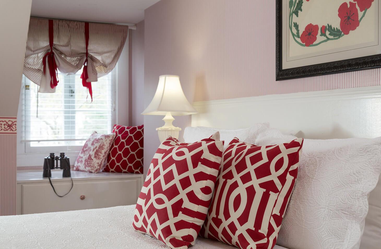 dormer bedroom vermont country inn