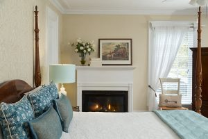 Room 3 romantic hotel room with fireplace bennington vermont
