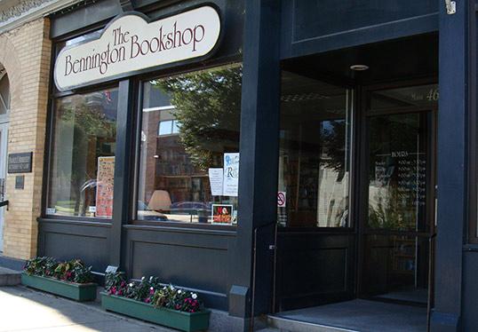 bennington bookshop exterior view