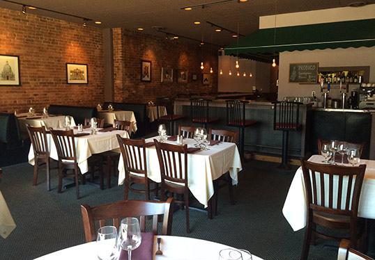 Allegro restaurant tables