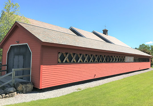 Covered Bridge museum in Bennington Vermont
