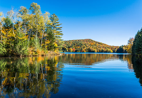 Vermont Lake in the Fall