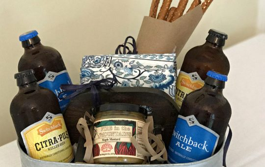 Craft Beer Snack Basket