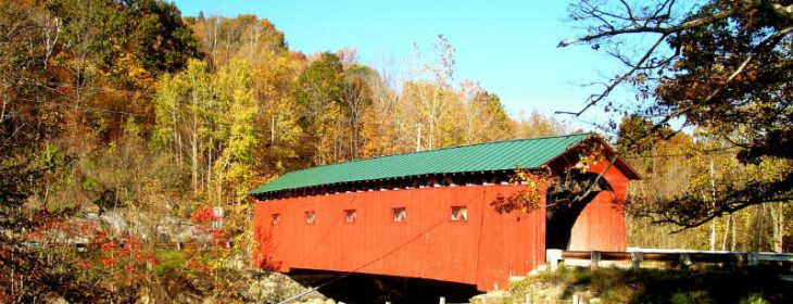 Covered Bridges of Vermont in West Arlington Vermont