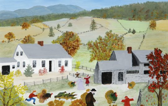 Grandma Moses Exhibit