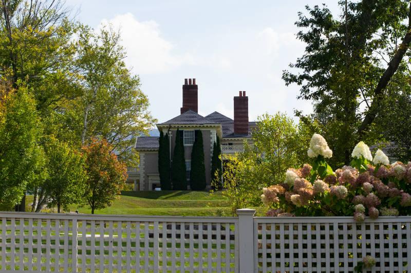 Hildene Estate in Vermont - Outside View