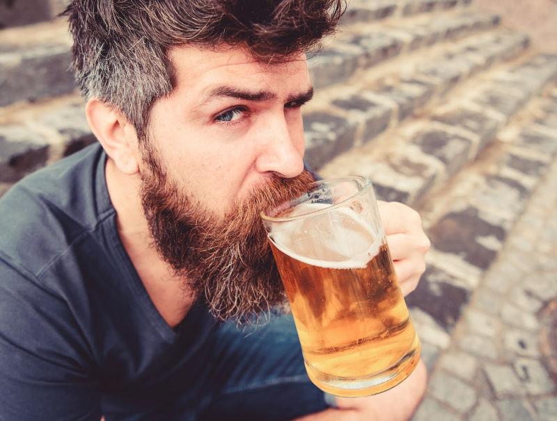 Beer Tasting Man in Vermont