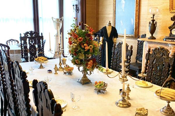 dining room historic governors mansion bennington vermont