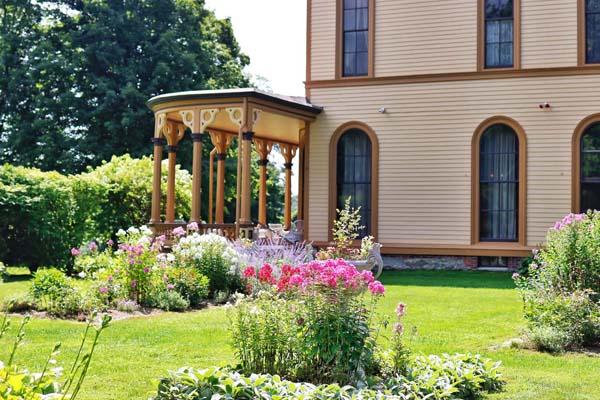 historic vermont mansion park mc cullough estate summer exterior