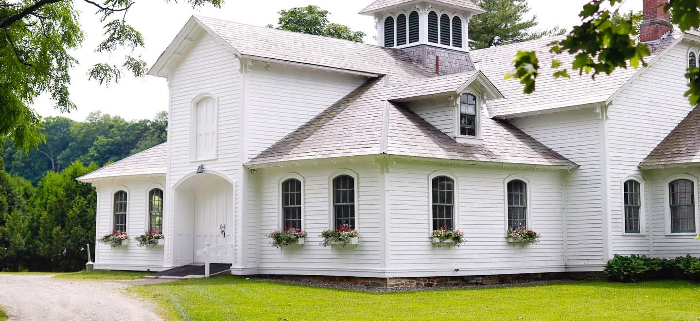 park mccullough estate vermont wedding barn summer